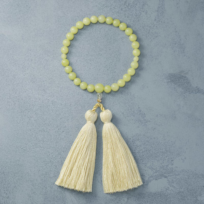 shuo12009  Juzu (Olive Jade × Yellow) 女性用