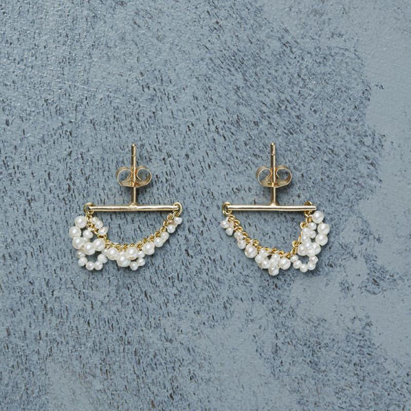 shuo 12006 Drop Pearl Piercing