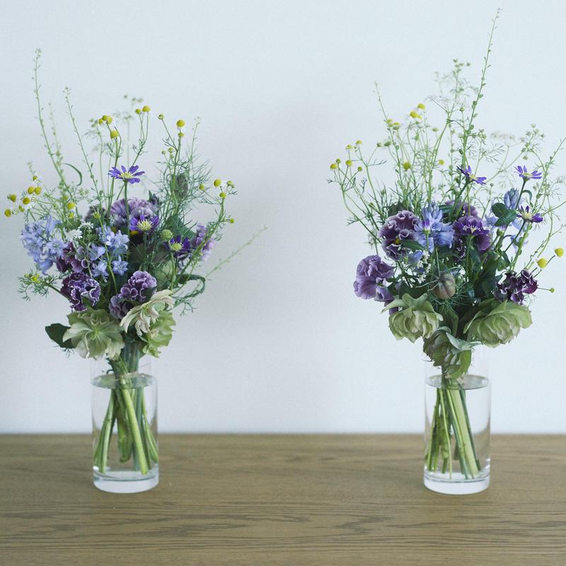 18017  仏花 (お墓や仏壇にお供えする一対の花)