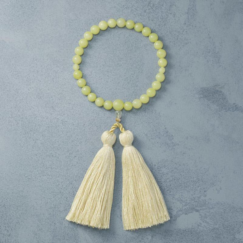 shuo12009  Juzu (Olive Jade × Yellow) 男性用