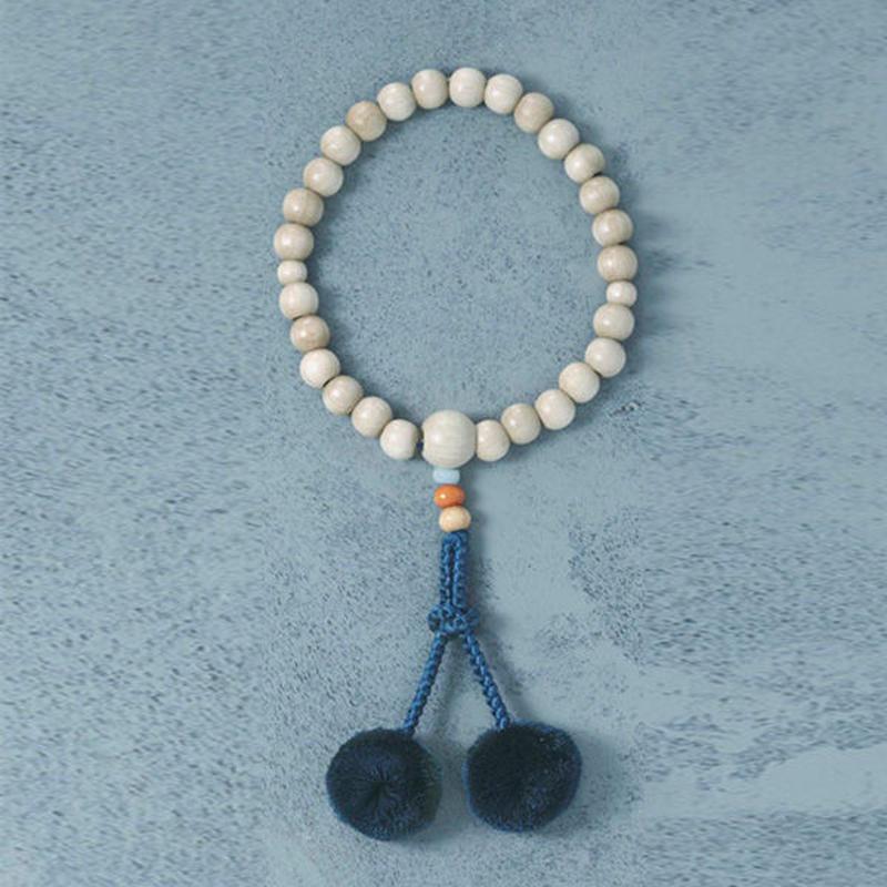 shuo11019  Juzu (Off-white × Blue)女性用