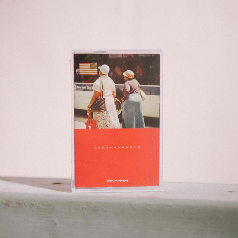 フレディーマーキュリーズ 1st EP 不安  限定カセットテープ