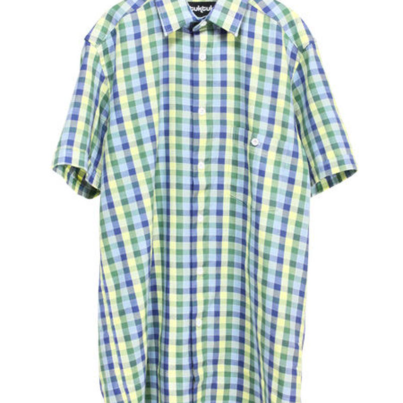 TukTuk/トゥクトゥク - レモンパステルチェックシャツ
