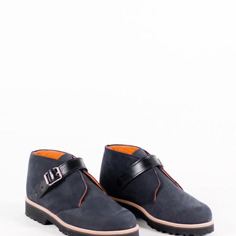 Deux Souliers - Desert #2 Black スウェード・デザート・シューズ (ブラック)【スペイン】【靴】【シューズ】【インポート】【VOGUE】