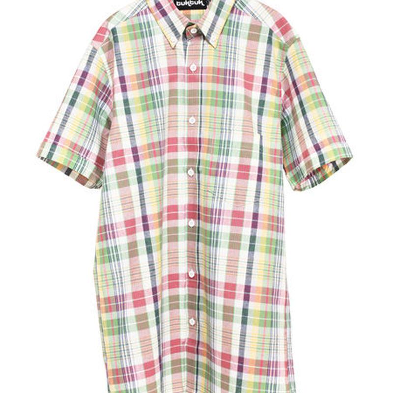 TukTuk/トゥクトゥク - プリンターズ・チェックシャツ
