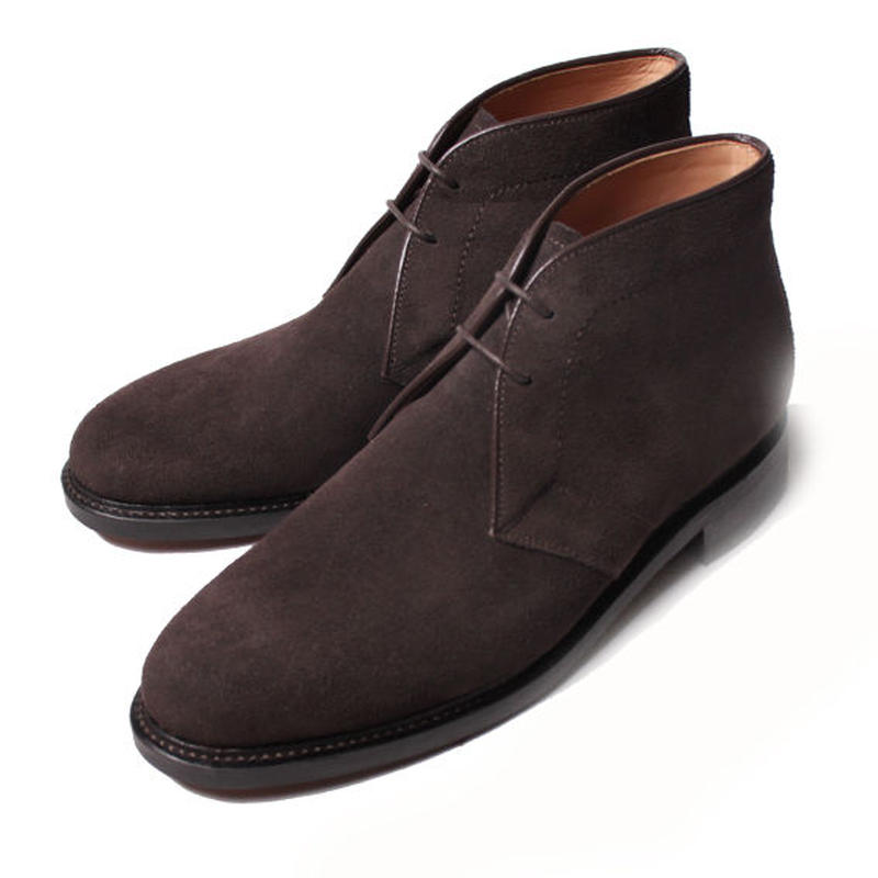 【 Men's EX 2月号掲載 】CH6601S-11 / D. Brown Suede|42ND ROYAL HIGHLAND Navy Collection