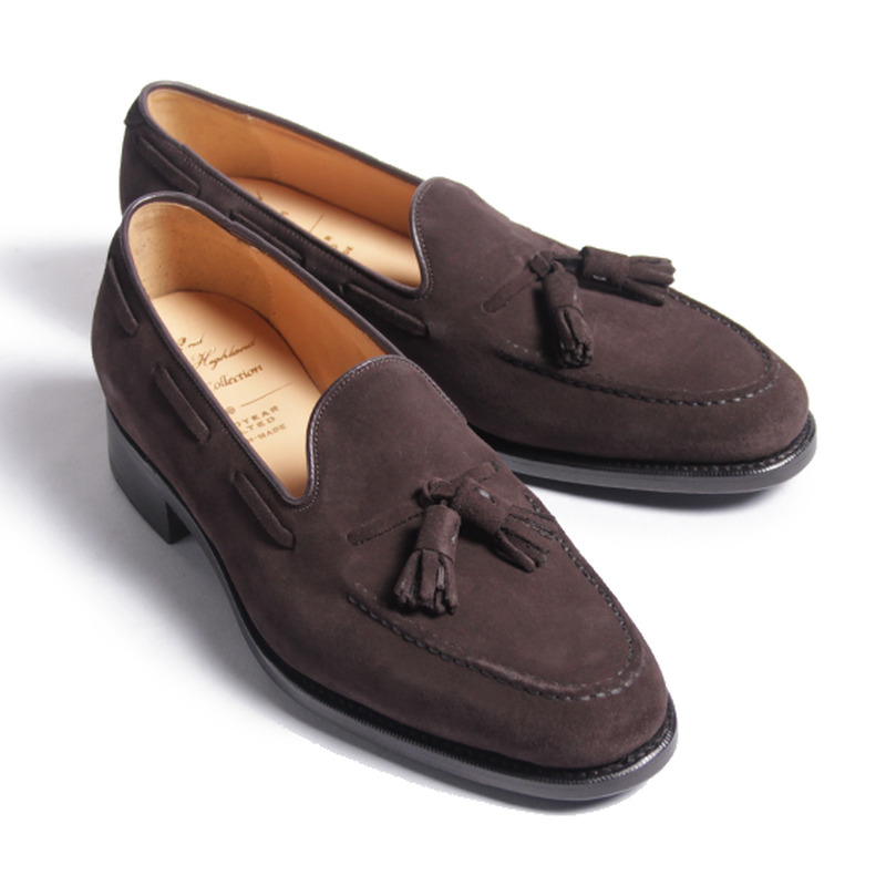 CH7003FS-11 / D.Brown Suede | 42ND ROYAL HIGHLAND Navy Collection
