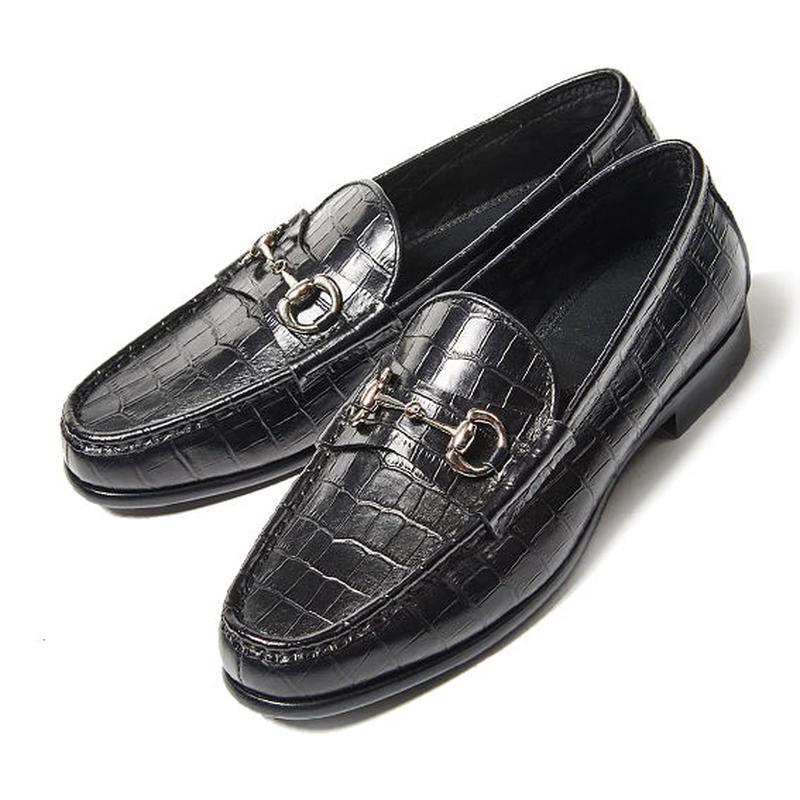 CS8017-01 / Black Embossed Leather | 42ND ROYAL HIGHLNAD transfer