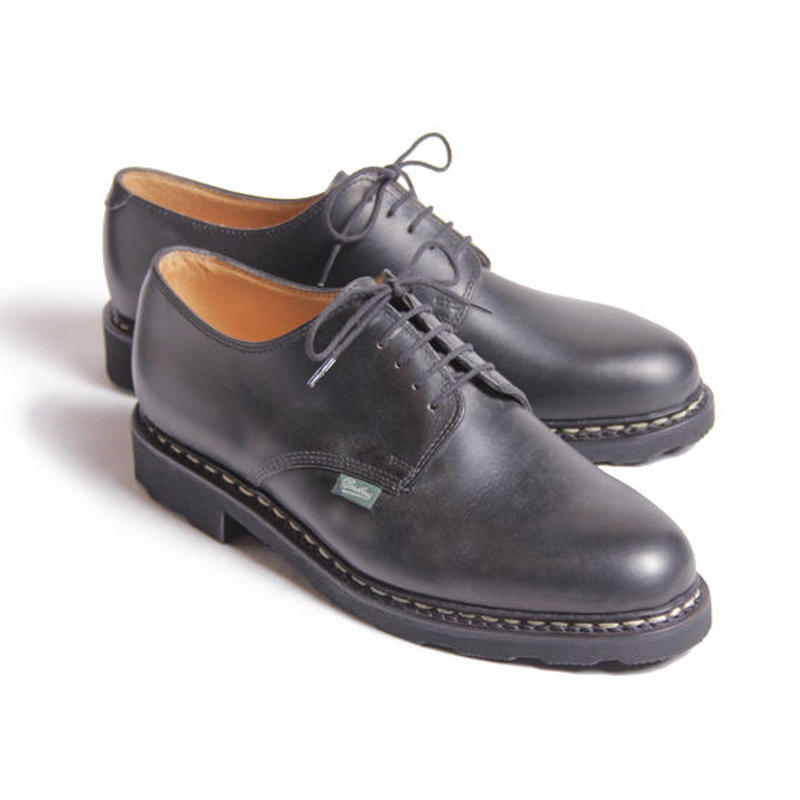 "【Safari 4月号掲載】P7038-01 ""ARLES"" / Black | PARABOOT made in france"