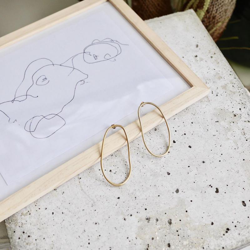 Draw earrings