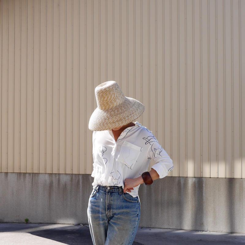Found  Straw hat-liiy-