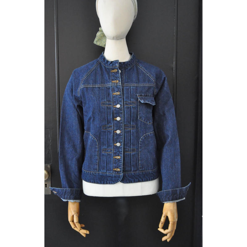 N-603 DENIM JACKET   DAMEGE