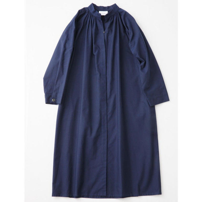 CHAW18-3811 GATHER ROBE  DRESS