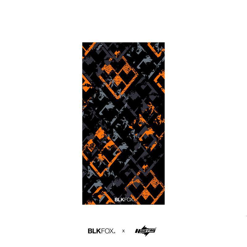 BLKFOX × Hoorag 01 / BLACK × ORANGE