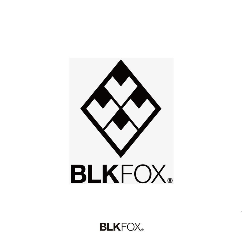 BLKFOX CUTTING STICKER 01 / BLACK
