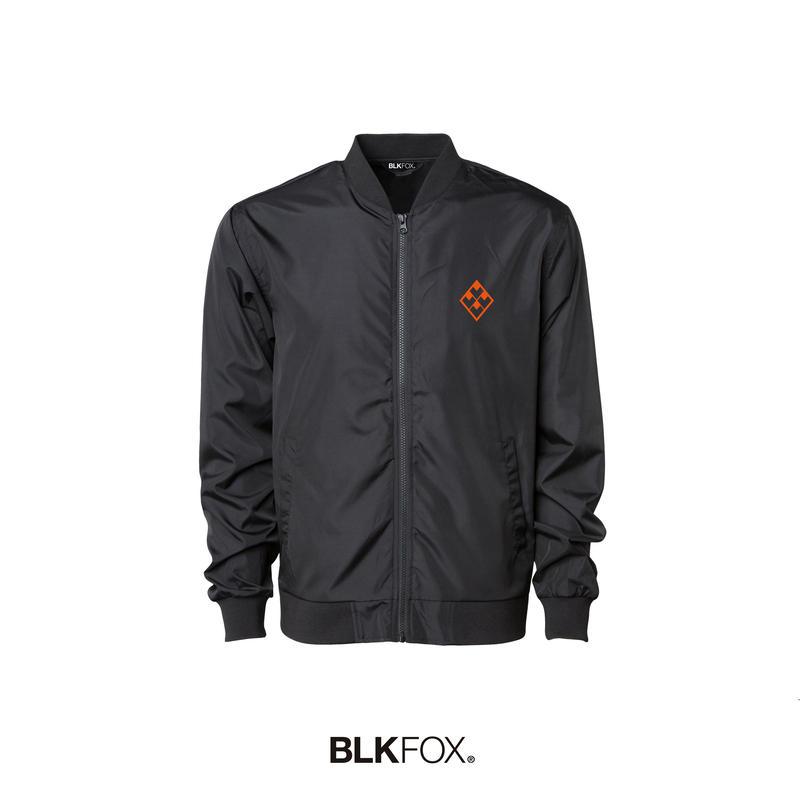 【予約販売】BLKFOX BOMBER JACKET 01 / BLACK × ORANGE