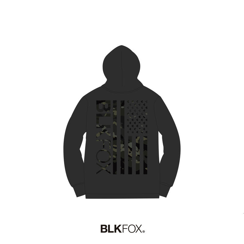 【予約販売】BLKFOX HOODIES 01 / BLACK x MCBK