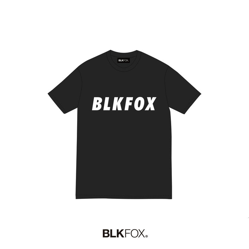 【予約販売】BLKFOX T-Shirt 08 / BLACK × WHITE