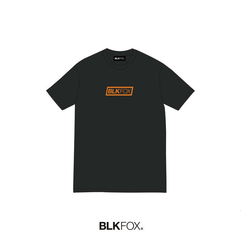 【予約販売】BLKFOX T-Shirt 02 / BLACK × ORANGE