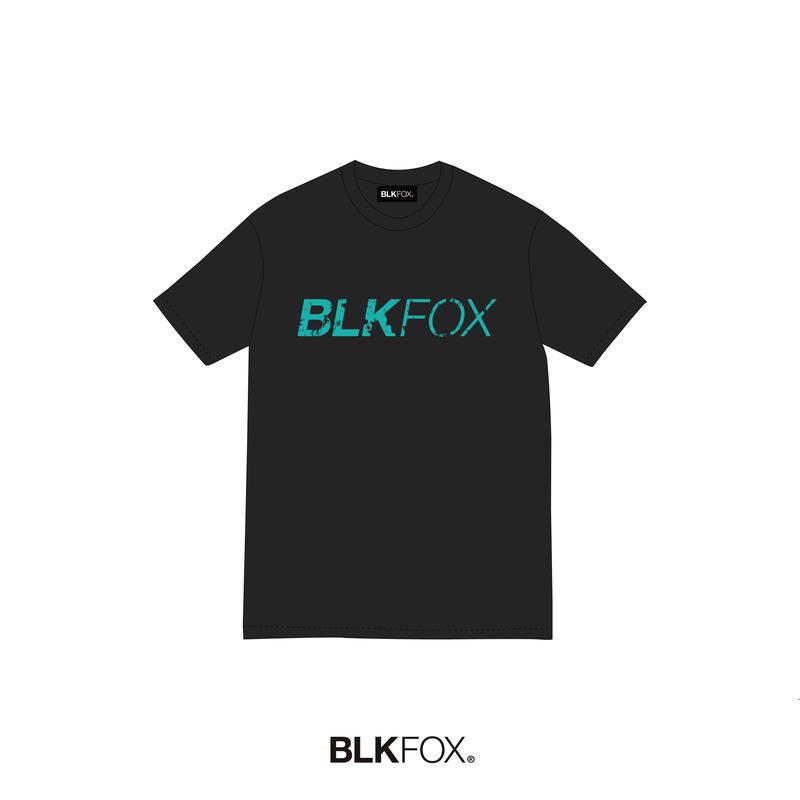 【予約販売】BLKFOX T-Shirt 03 / BLACK × TBLUE