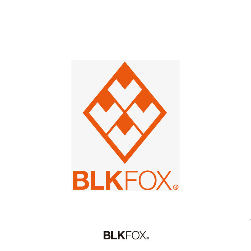 BLKFOX CUTTING STICKER 01 / ORANGE