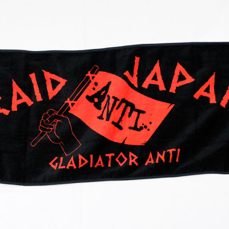 GLADIATOR Anti TOWEL(BK/RD)