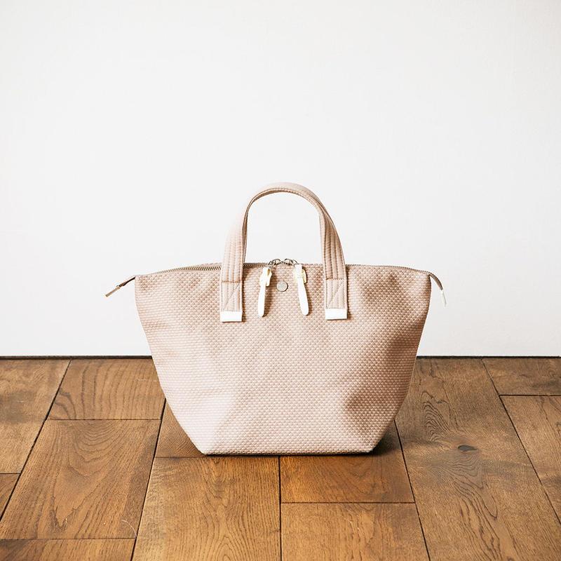 CaBas N°33 Bowler bag small + Shoulder strap  /  Pink Beige