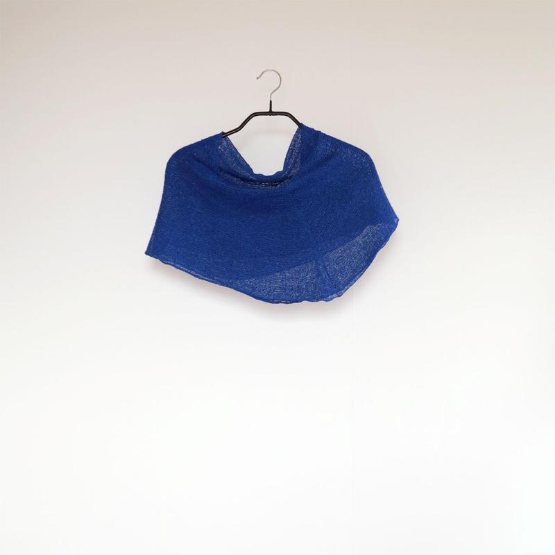 ◆即納◆Rubidea[ルビデア] スヌード・ケープ3 / ロイヤル・ブルー