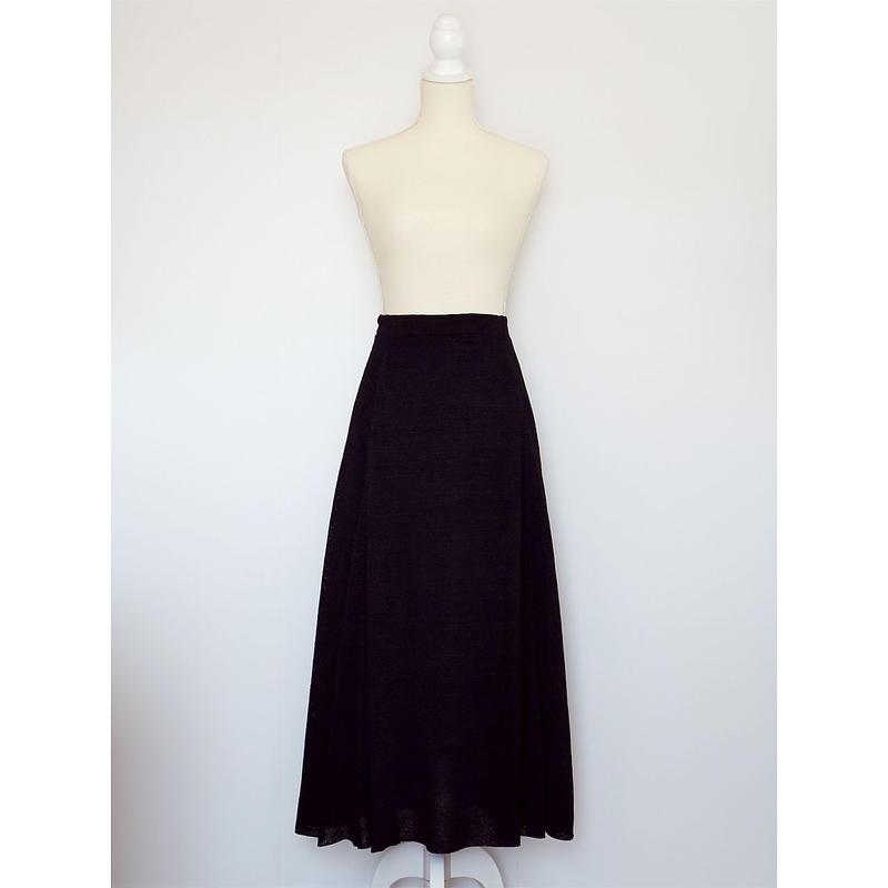 ◆即納◆Serpens[セルペンス] フレア・スカート / ブラック