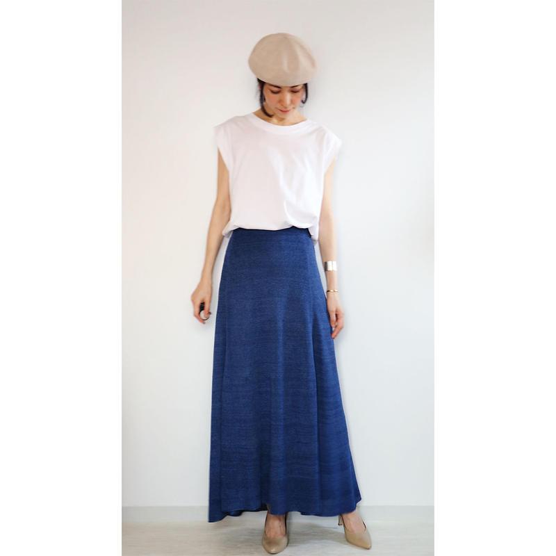 ◆即納◆Serpens[セルペンス] フレア・スカート / ナイト・ブルー