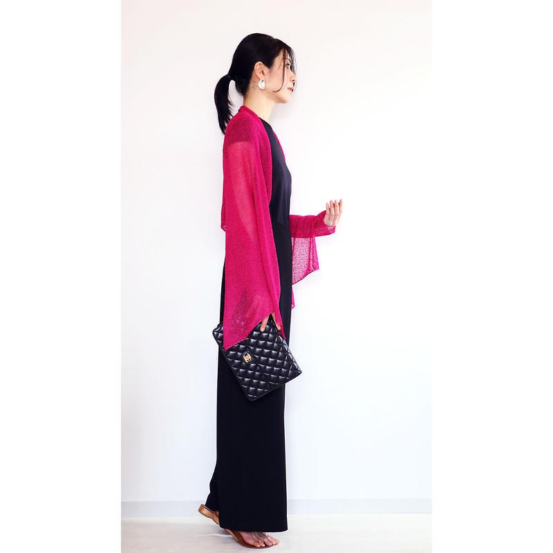 ◆即納◆Rigel[リゲル] 袖付きストール / フューシャ・ピンク