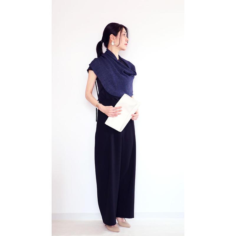 ◆即納◆Corona[コロナ] スヌード・ケープ / ネイビー・ブルー