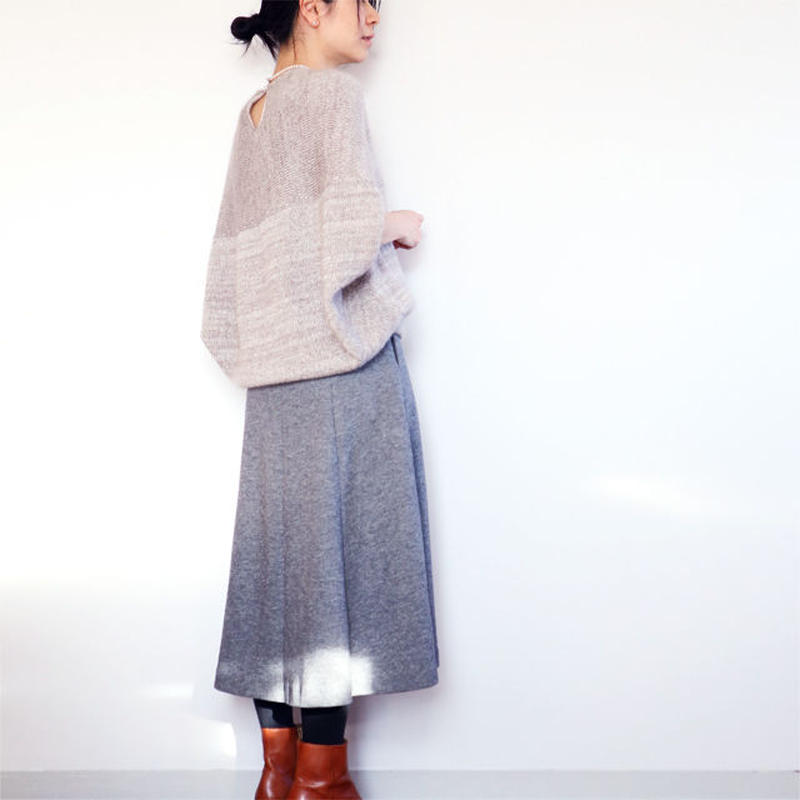 ◆即納◆Mensa[メンサ] シルクモヘア・トップス / グレー系1 / Mサイズ