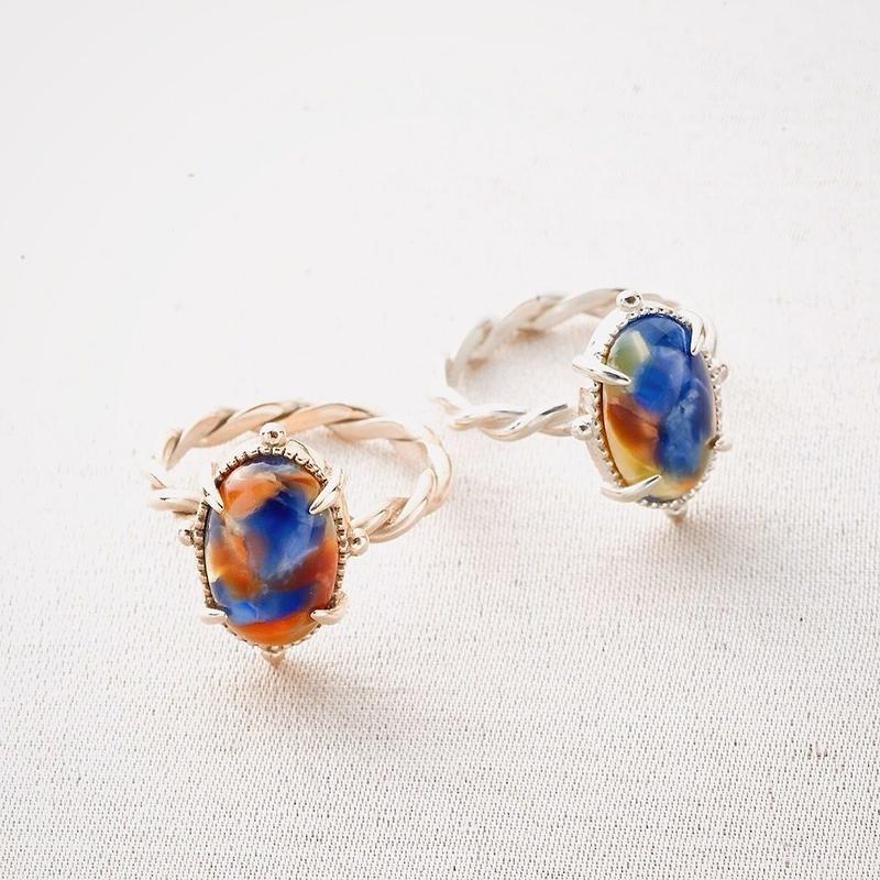 Rosalie Ring / K10 Gold <受注生産>
