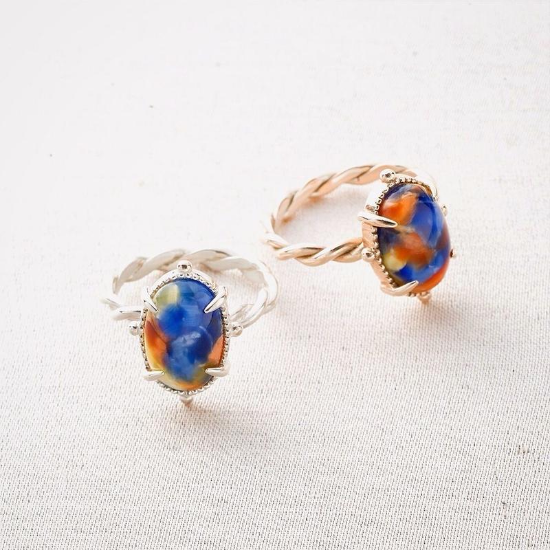 Rosalie Ring / Silver <受注生産>