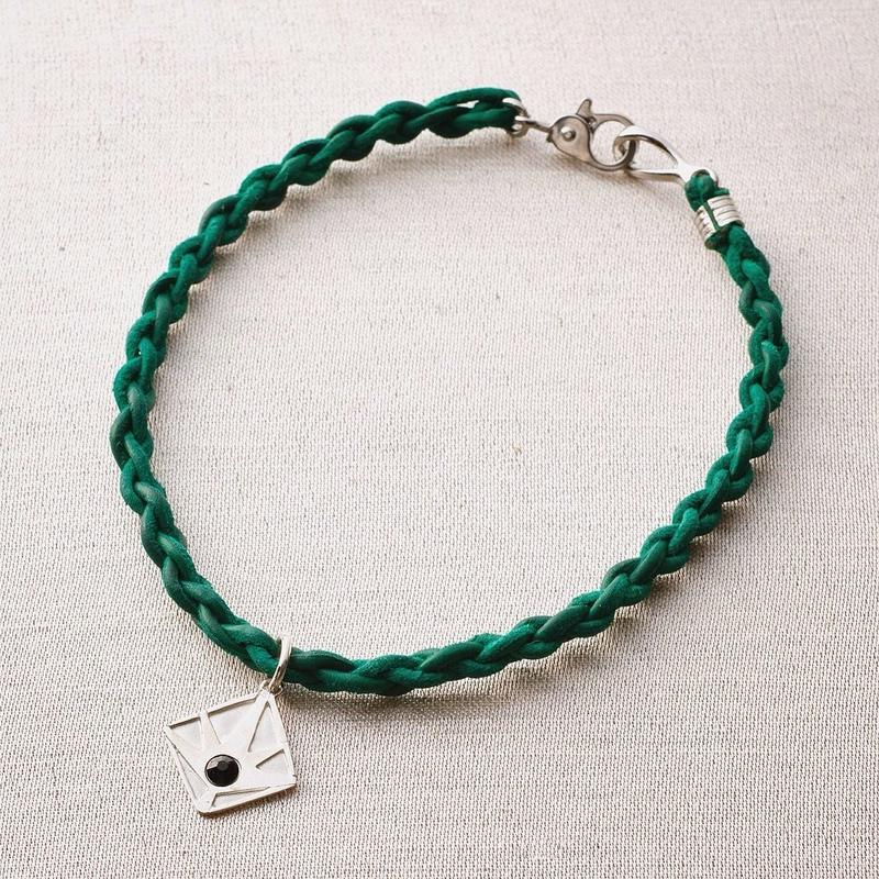 Horizon Men's Bracelet / GREEN <受注生産>