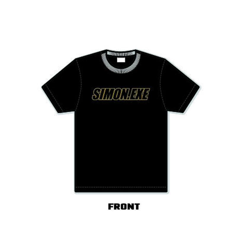 SIMON.EXE  Logo T-shirts(BLACK)