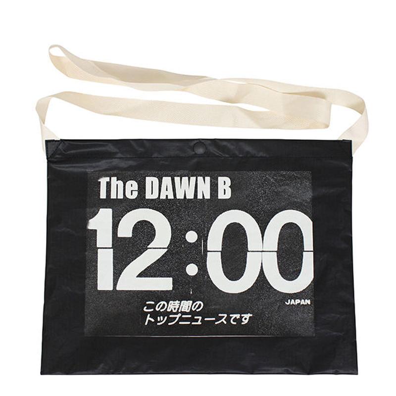 THE DAWN B  × bulbs 超軽量 サコッシュ BLACK/WHITE
