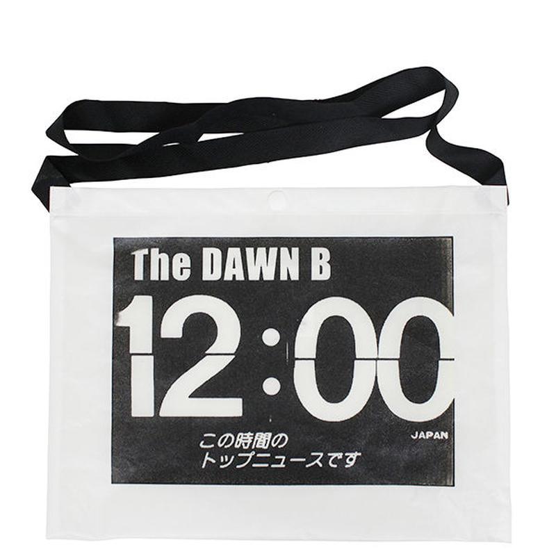 THE DAWN B  × bulbs 超軽量 サコッシュ WHITE/BLACK