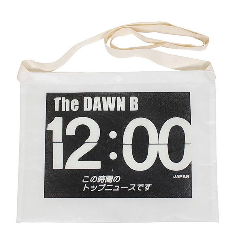 THE DAWN B  × bulbs 超軽量 サコッシュ WHITE/WHITE