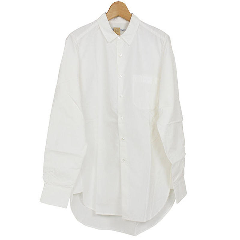 The Dawn B  ザドーンビィ SIDE SLIT MUM SHIRTS  絹裏付