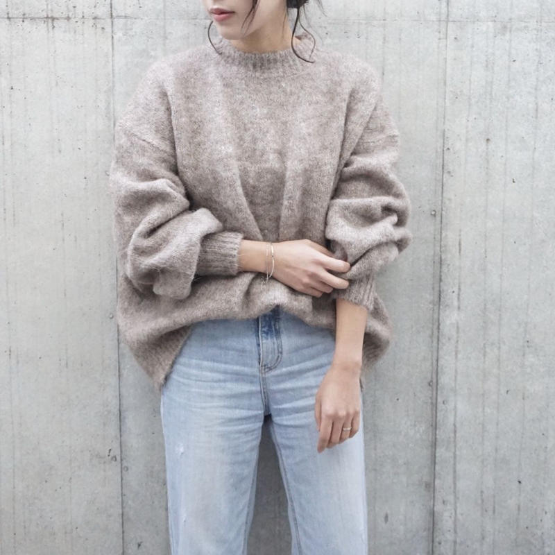 ALPACA OVER KNIT