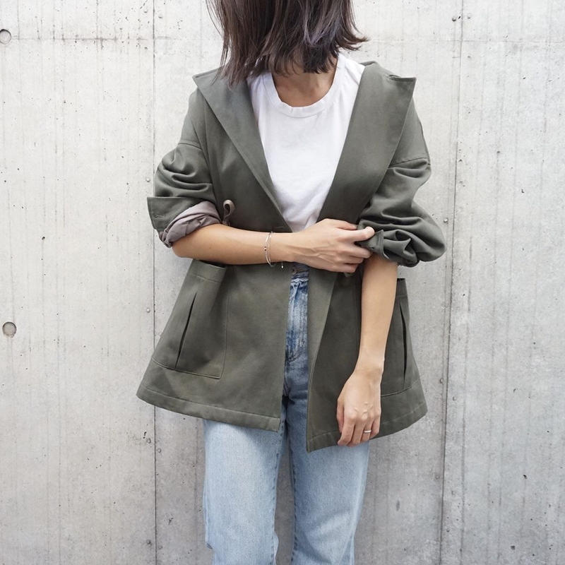 OVER MILITARY JACKET