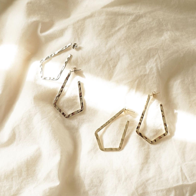 rhombus shape pierce