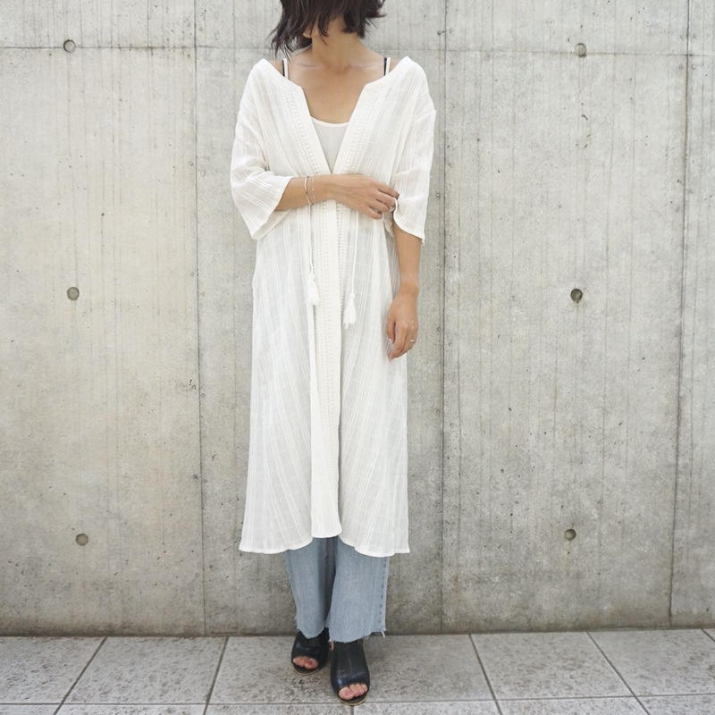 SOFT TOUCH COTTON LACE GOWN