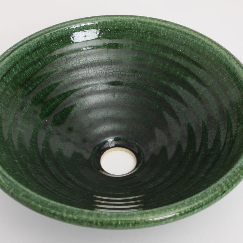 織部(中)手洗い鉢