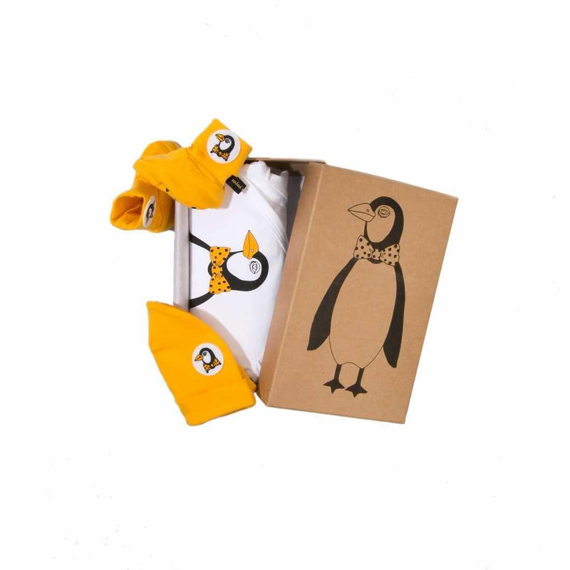 MINI RODINI / Baby Kit 1, Penguin Multi Colour