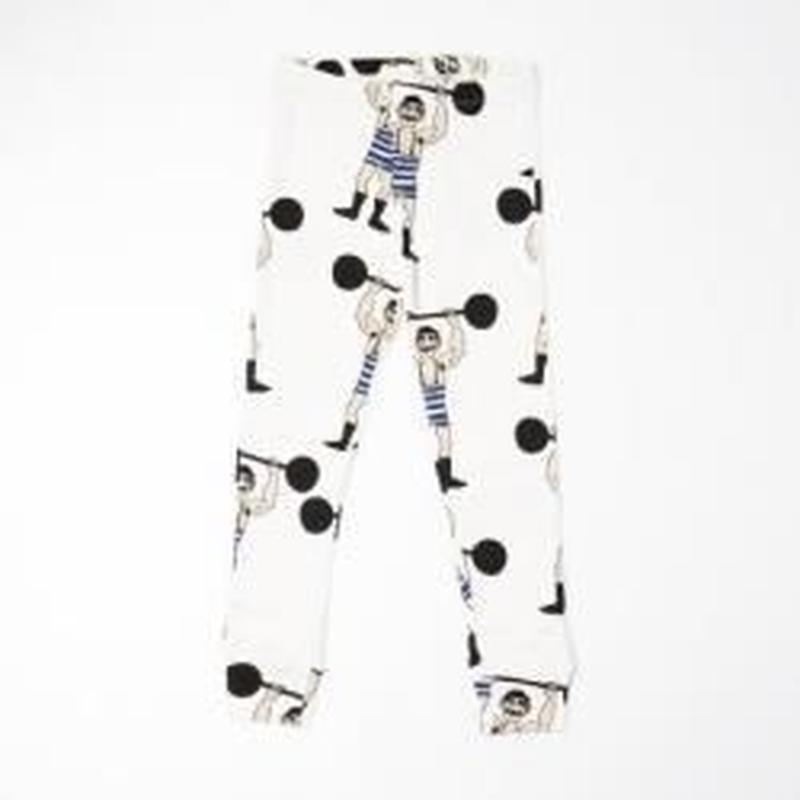 MINI RODINI / Weightlifter Aop leggings