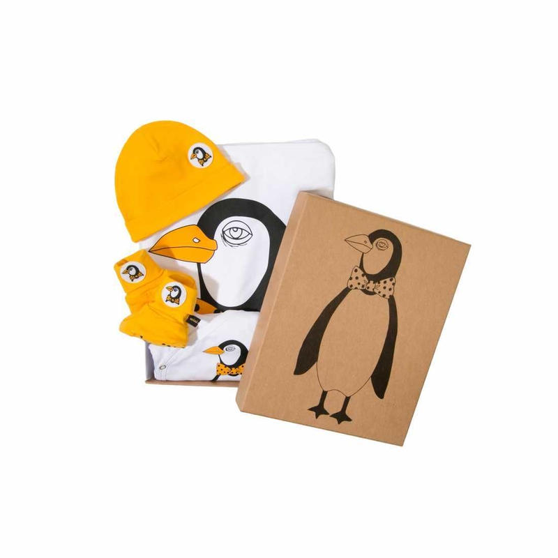 MINI RODINI / Baby Kit 2, Penguin Multi Colour