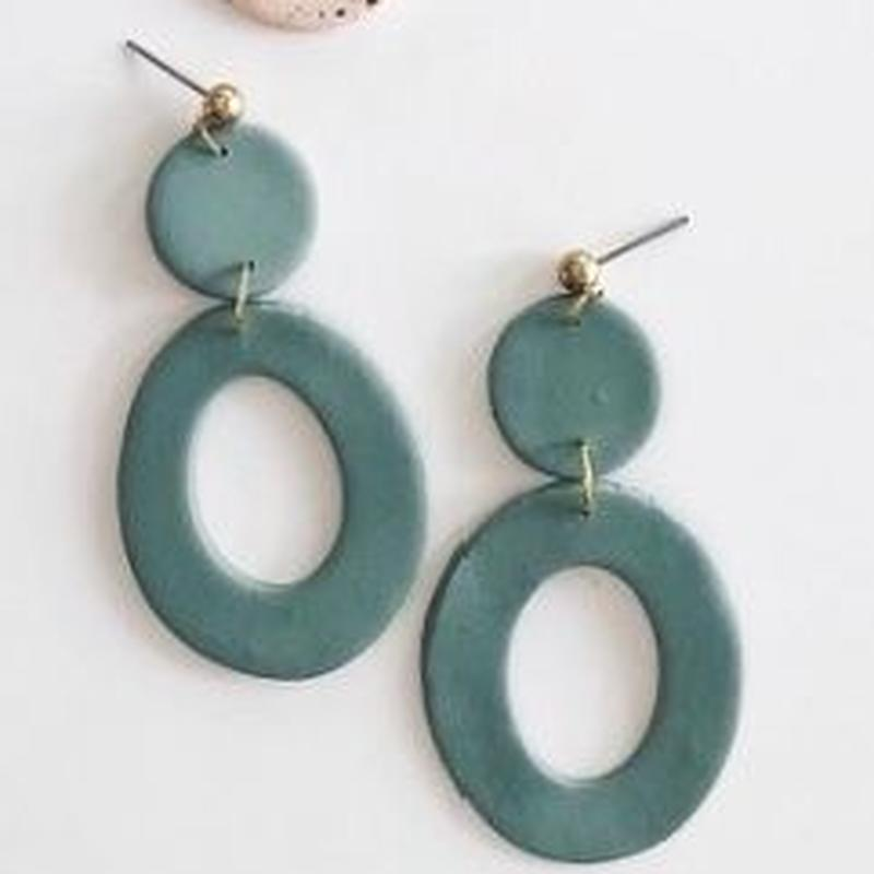 Sage Florence Earrings